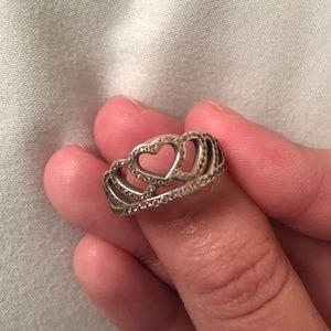 Pandora my Princess Tiara Ring Size 5